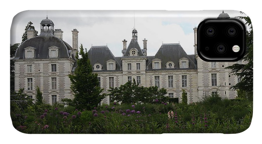 Palace IPhone Case featuring the photograph Chateau Cheverney by Christiane Schulze Art And Photography