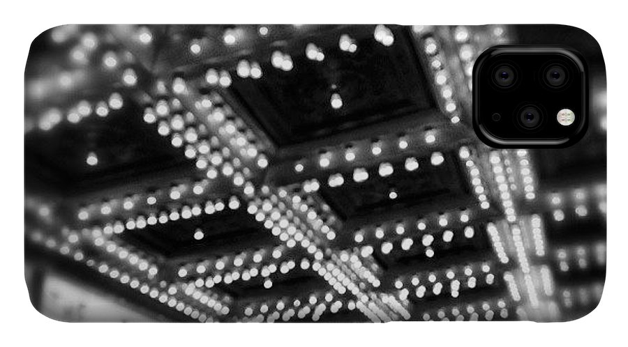 America IPhone Case featuring the photograph Chicago Oriental Theatre Lights by Paul Velgos
