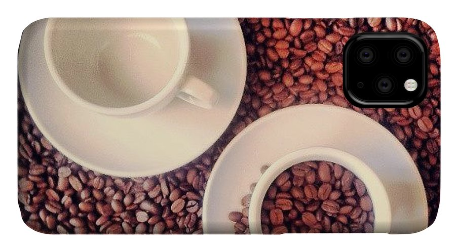 Drinks IPhone 11 Case featuring the photograph Coffe Pause Ll by Raimond Klavins