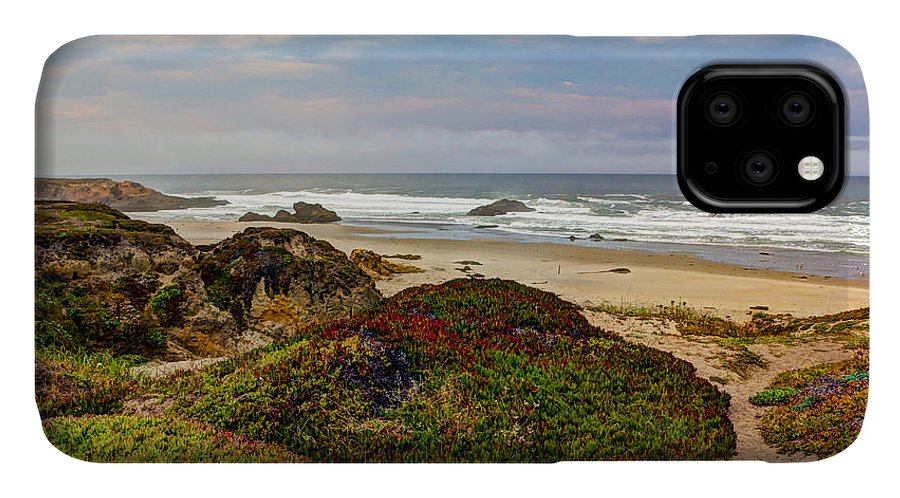 American IPhone 11 Case featuring the photograph Colors And Texures Of The California Coast by Heidi Smith