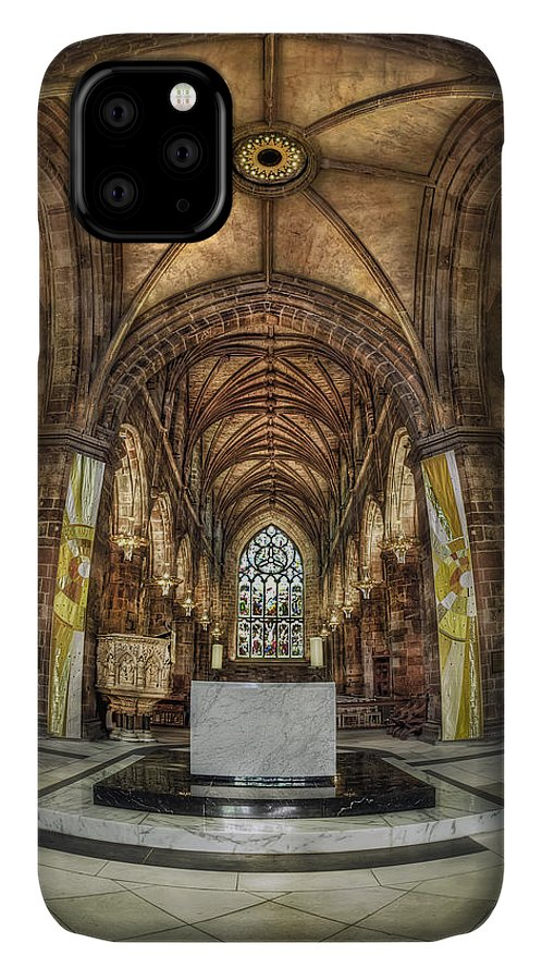 Cathedral IPhone Case featuring the photograph Count Your Blessings by Evelina Kremsdorf