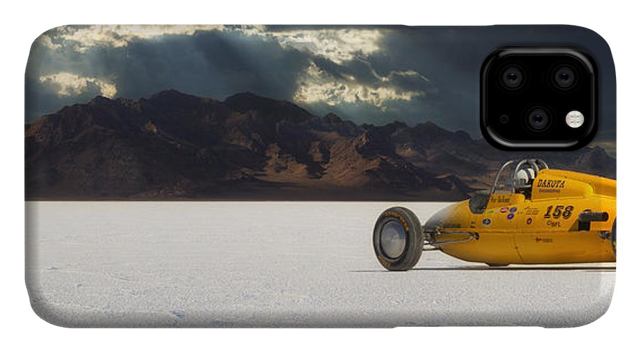 Bonneville IPhone Case featuring the photograph Dakota 158 by Keith Berr
