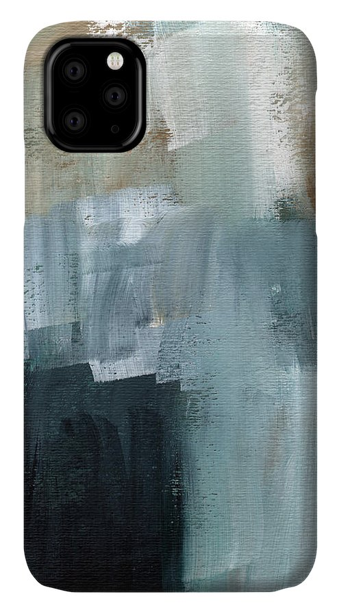 Abstract Art IPhone 11 Case featuring the painting Days Like This - Abstract Painting by Linda Woods
