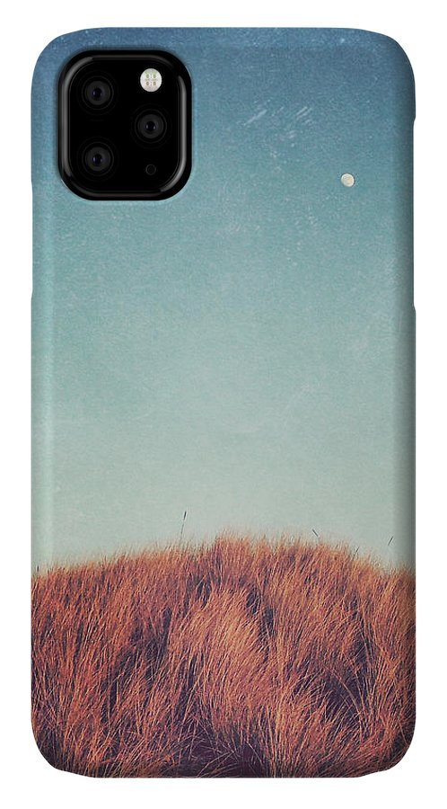 Moon IPhone Case featuring the photograph Distant Moon by Lupen Grainne