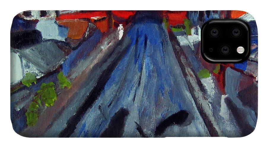 Curitiba IPhone Case featuring the painting Dr Rafael Robeiro Study 1 by Greg Mason Burns