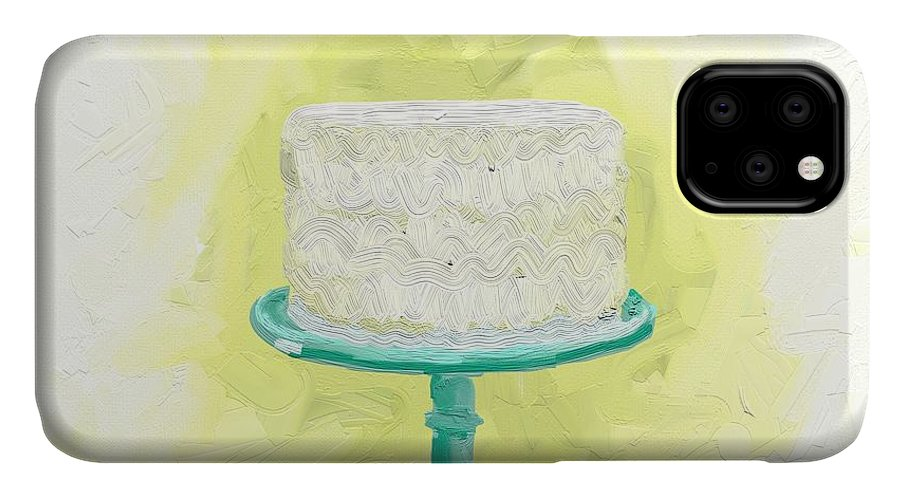 Cake IPhone 11 Case featuring the photograph Dreaming of buttercream by Cathy Walters