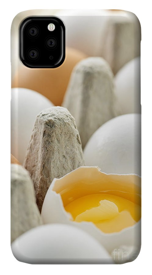 Eggs IPhone Case featuring the photograph Eggs In Box by Elena Elisseeva