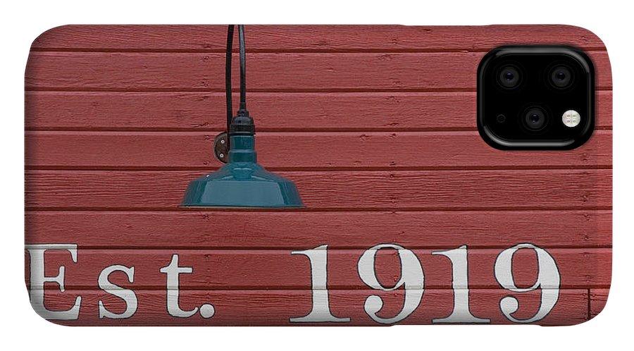 Heidenreich IPhone Case featuring the photograph Est 1919 by Paul DeRocker