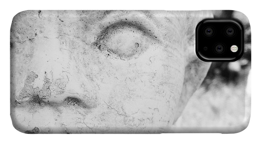Statue IPhone Case featuring the photograph Face by Christy Beckwith