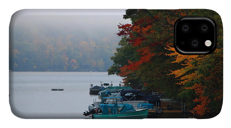 Fall Colors IPhone 11 Case featuring the photograph Fall On Little Squam by Michael Mooney