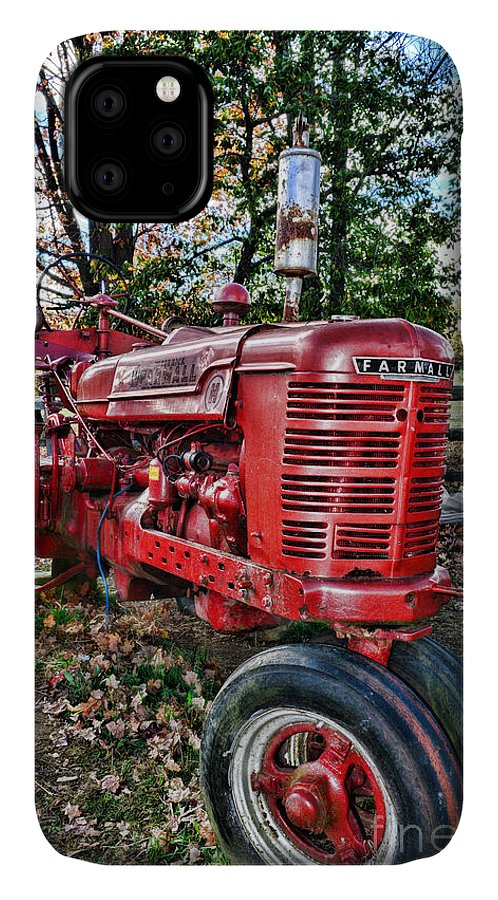 Paul Ward IPhone Case featuring the photograph Farmers Tractor by Paul Ward