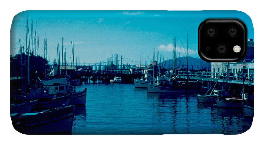 Fisherman's Wharf IPhone Case featuring the photograph Fisherman's Wharf 1955 by Cumberland Warden