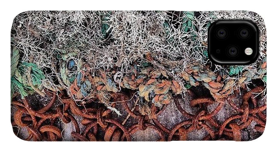 Nicsquirrell IPhone 11 Case featuring the photograph Fishing Nets #net #nicsquirrell by Nic Squirrell