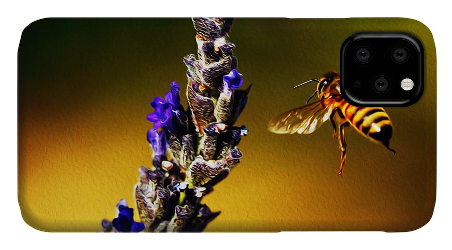 Bees IPhone Case featuring the photograph Float Like a Butterfly by Joe Schofield