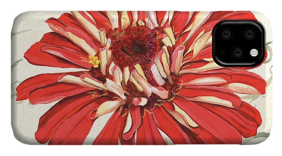 Floral IPhone Case featuring the painting Floral Inspiration 1 by Debbie DeWitt