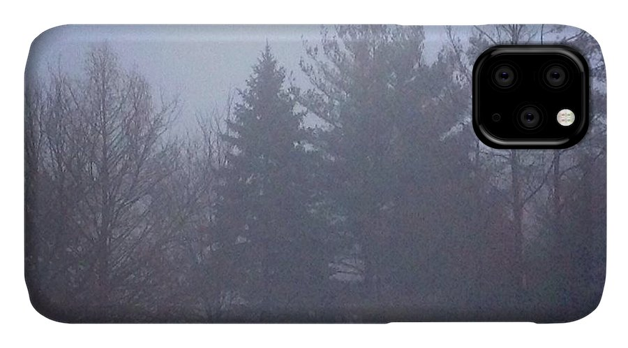 Frank-j-casella IPhone Case featuring the photograph Fog And Mist by Frank J Casella