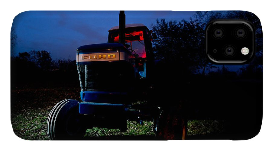 Tractor IPhone Case featuring the photograph Ford Tractor by Cale Best