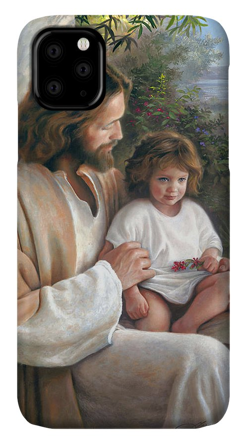 Jesus IPhone Case featuring the painting Forever and Ever by Greg Olsen