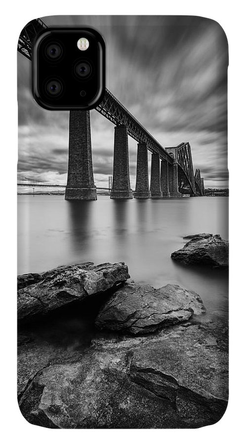 Forth Bridge IPhone Case featuring the photograph Forth Bridge by Dave Bowman