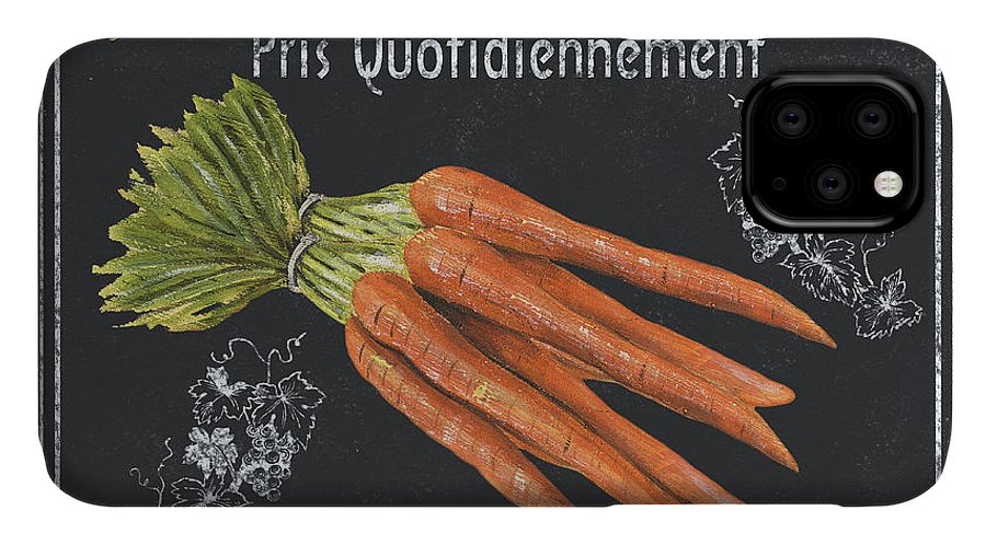Produce IPhone Case featuring the painting French Vegetables 4 by Debbie DeWitt