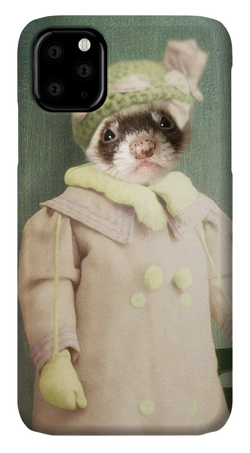 Feret IPhone Case featuring the photograph Funette by Martine Roch