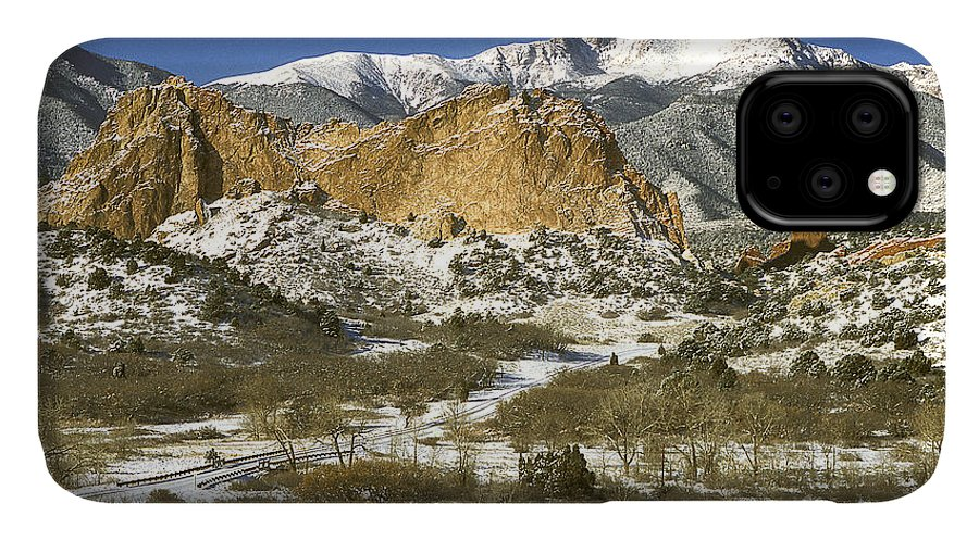 Colorado IPhone Case featuring the photograph Garden Of The Gods Park by Richard Patrick