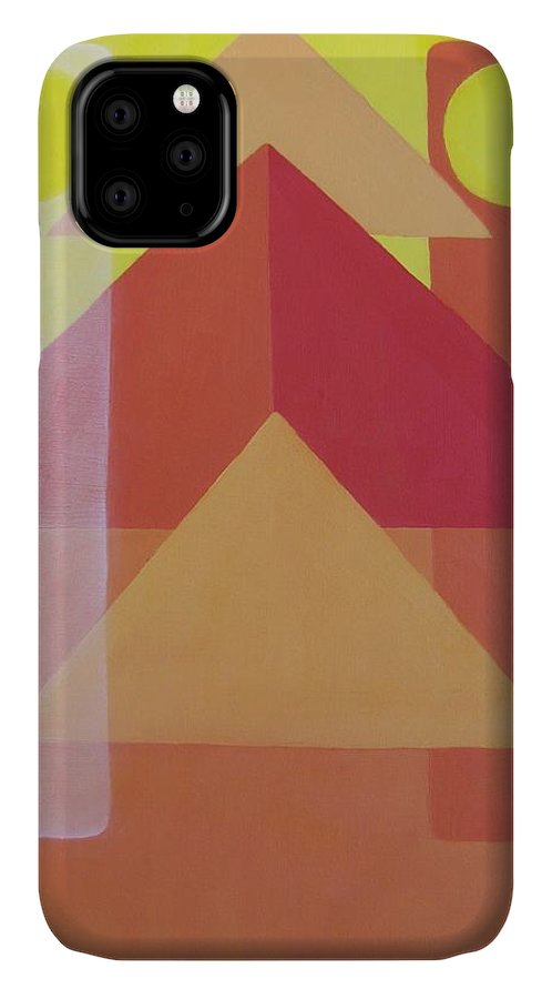 Giza IPhone Case featuring the painting Giza by Michael TMAD Finney AKA MTEE