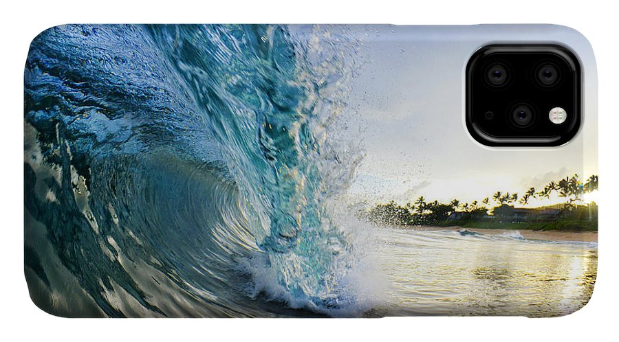 Ocean IPhone Case featuring the photograph Golden Mile by Sean Davey
