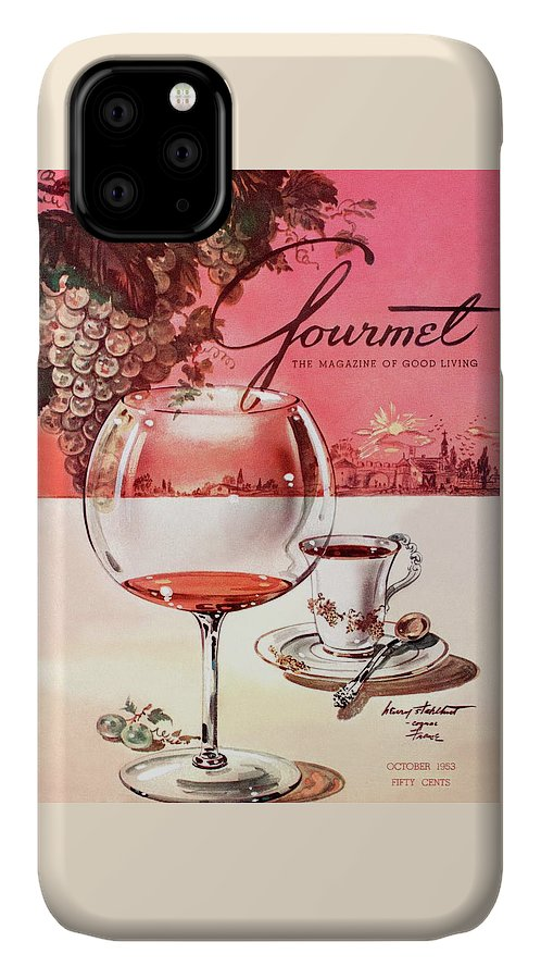 Travel IPhone Case featuring the photograph Gourmet Cover Illustration Of A Baccarat Balloon by Henry Stahlhut