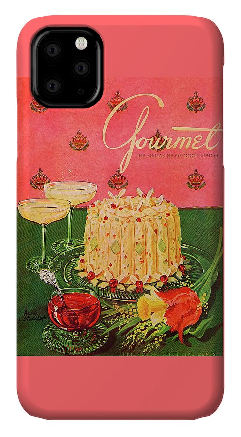 Gourmet Cover Illustration Of A Molded Rice IPhone 11 Case