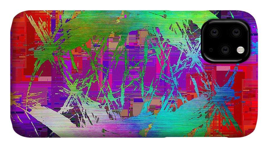 Graffiti IPhone Case featuring the digital art Graffiti Cubed 2 by Tim Allen