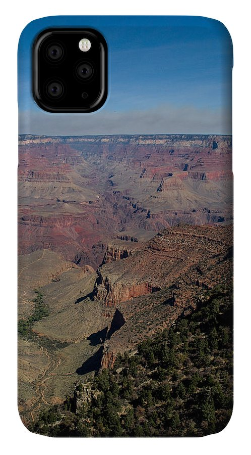 Grand IPhone 11 Case featuring the photograph Grande Canyon Afternoon by Douglas Barnett