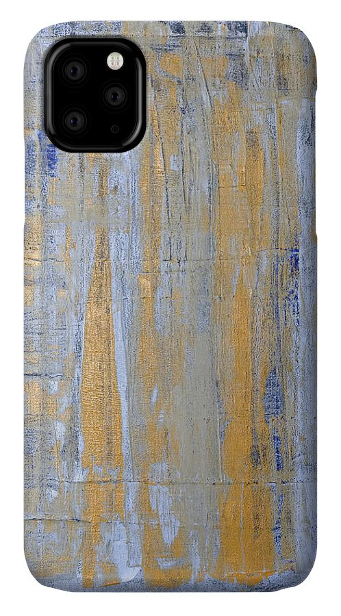 Heaven IPhone 11 Case featuring the painting Heaven's Gate 2 by Julie Niemela