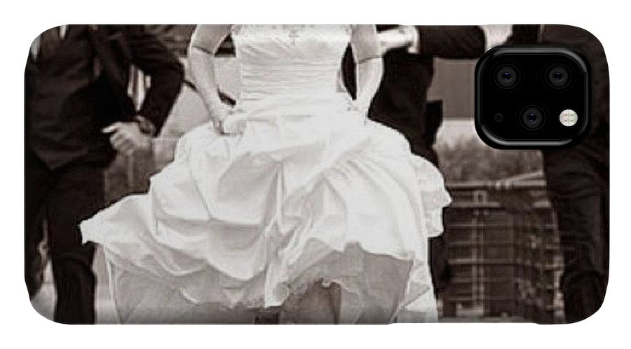 Weddingphotography IPhone Case featuring the photograph Here They Come! The Wedding Season Has by Tonino Guzzo