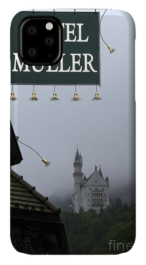 Architecture IPhone Case featuring the photograph Hotel Muller by Richard Patrick