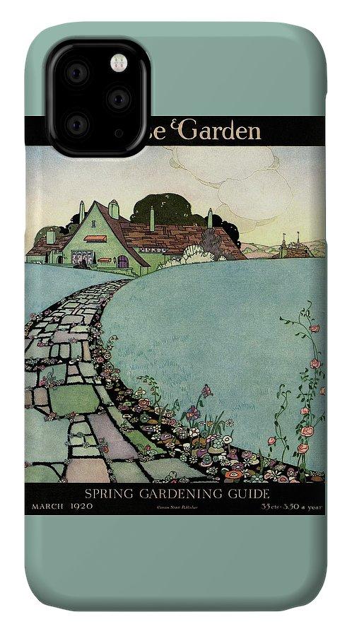 House And Garden Spring Garden Guide IPhone Case