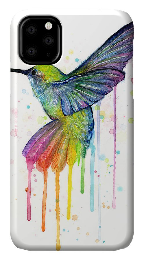 Hummingbird iPhone 11 case