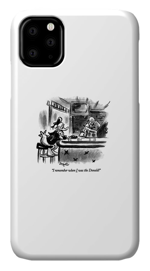 I Remember When I Was The Donald! IPhone Case