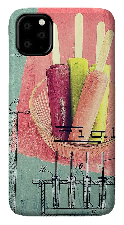 Popsicle IPhone 11 Case featuring the photograph Invention Of The Ice Pop by Edward Fielding