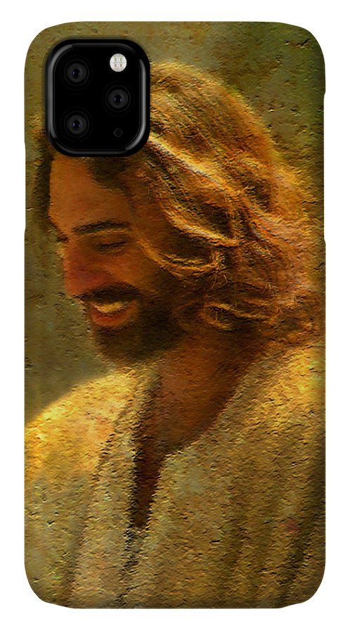 Jesus IPhone Case featuring the painting Joy of the Lord by Greg Olsen