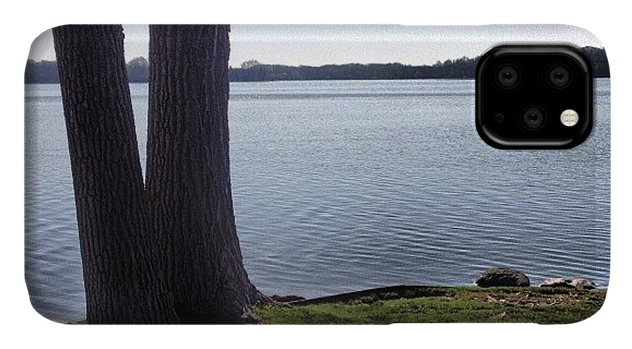 Summer IPhone Case featuring the photograph Lake in the Summer by Christy Beckwith