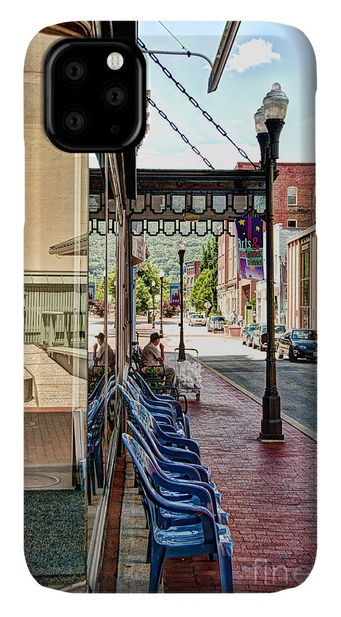 City IPhone Case featuring the photograph Liberty Street by Richard Patrick