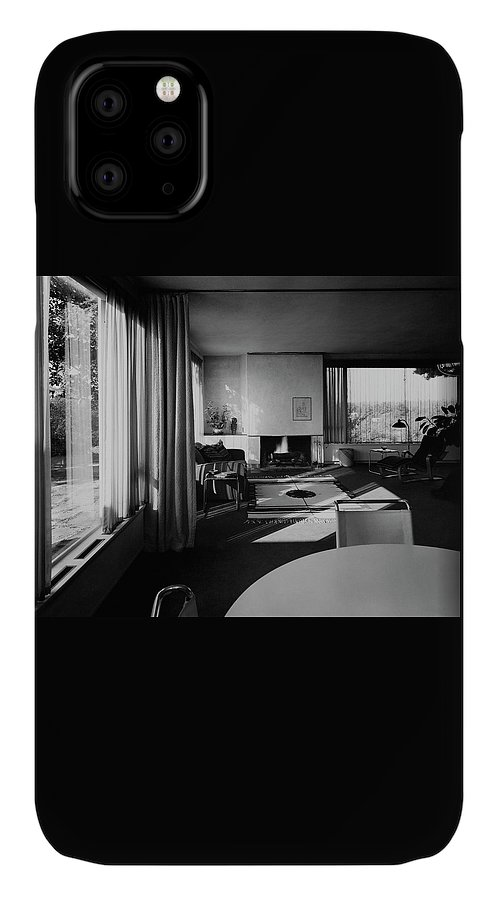 Home IPhone Case featuring the photograph Living Room In Mr. And Mrs. Walter Gropius' House by Robert M. Damora