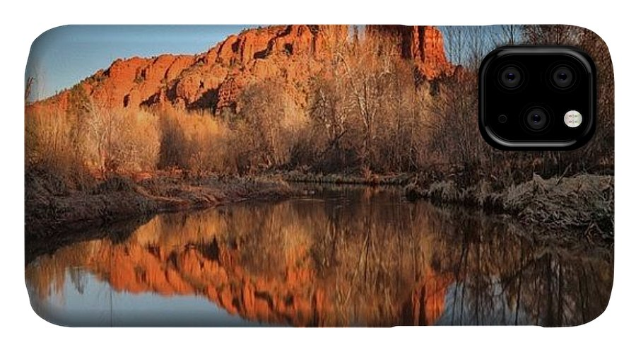 IPhone Case featuring the photograph Long Exposure Photo Of Sedona by Larry Marshall