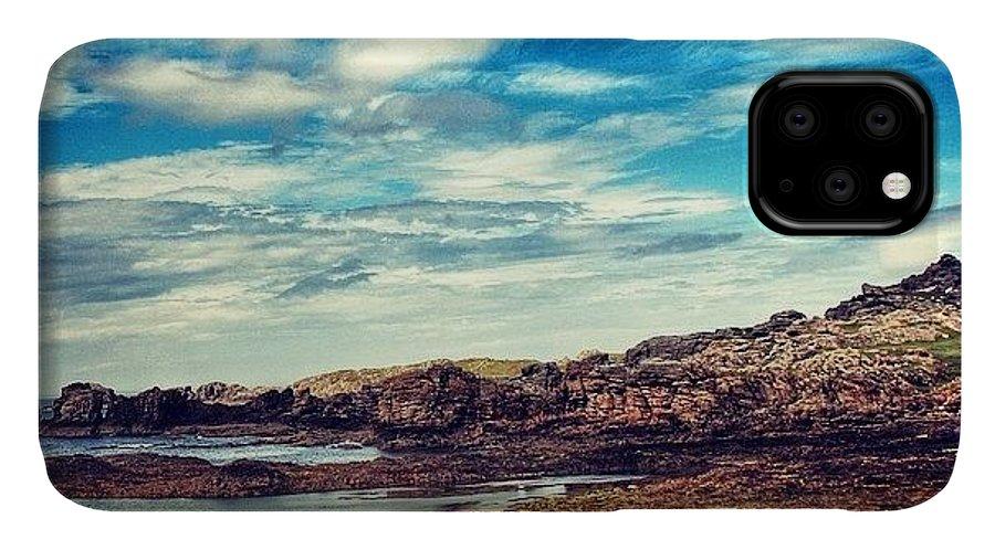 Shotaward IPhone Case featuring the photograph #malinhead #ireland #landscape #nature by Luisa Azzolini