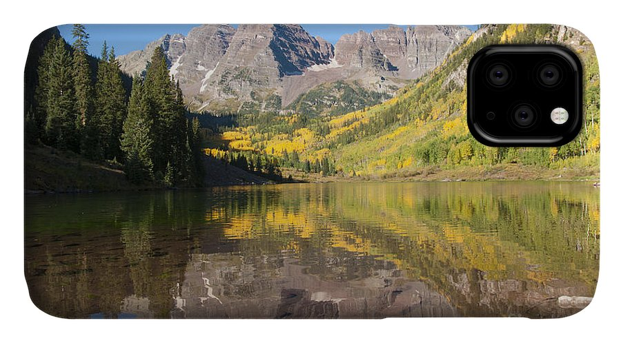 Alpine IPhone Case featuring the photograph Maroon Bells In Autumn by Juli Scalzi