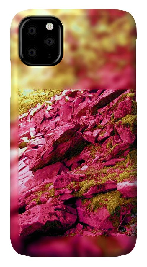 Slate IPhone Case featuring the photograph Memory Fails Me by Laureen Murtha Menzl