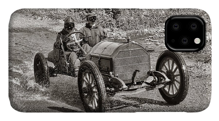 1912 IPhone Case featuring the photograph Mercer Raceabout by Olivier Le Queinec