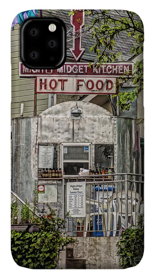 Architecture IPhone Case featuring the photograph Mighty Midget Kitchen by Richard Patrick