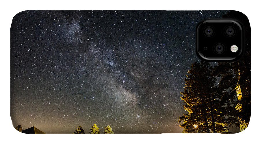 Milky Way IPhone Case featuring the photograph Milky Way From Oldham South Dakota Usa by Aaron J Groen